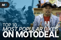 Top 10 Most Popular Motorcycles on MotoDeal in 2020 - Behind a Desk