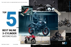 Top 5 best inline three-cylinder motorcycles in the Philippines