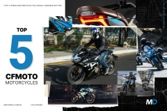 Top 5 CFMOTO Motorcycles you should get