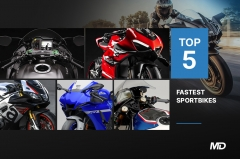 Top 5 Fastest Sportbikes