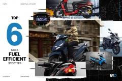 Top 6 most fuel efficient scooters in the Philippines