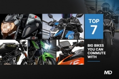 Top 7 big bikes you can commute with - Cover Photo