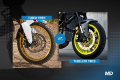 Tube vs tubeless tires