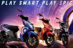 TVS Marvel Super Squad Edition