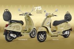 Vespa launches 75th Anniversary Primavera and GTS editions