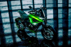 We could soon find Kawasaki's new Adaptive concept in future models