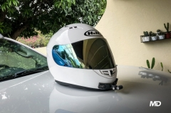 What is an authorized motorcycle helmet in the Philippines?