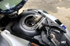 What should you do if water gets in your fuel tank?