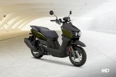 Yamaha BW'S Army Green