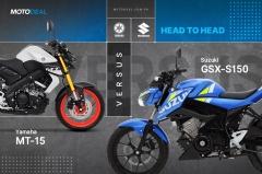 Yamaha M5-15 versus Suzuki GSX-S150 Head to Head