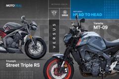Yamaha MT-09 versus Triumph Street Triple RS - Head to head
