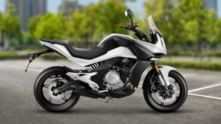 2020 CFMoto 650 MT side white
