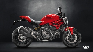 2020 Ducati Monster 821 ABS red side profile Philippines