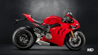 2020 Ducati Panigale V4 S red side profile Philippines