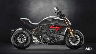 2021 Ducati Diavel 1260 S black side profile Philippines