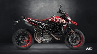 2021 Ducati Hypermotard 950 RVE side profile Philippines