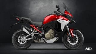 2021 Ducati Multistrada V4 S SW Red side profile Philippines