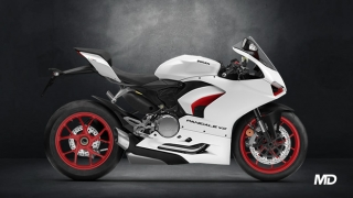 2021 Ducati Panigale V2 ABS White side profile Philippines