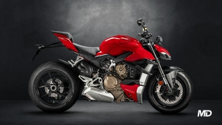 2021 Ducati Streetfighter V4 ABS red side profile Philippines