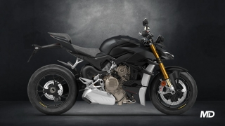 2021 Ducati Streetfighter V4 S red side profile Philippines