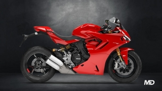 2021 Ducati SuperSport S ABS red side profile Philippines
