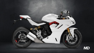 2021 Ducati SuperSport S ABS white side profile Philippines