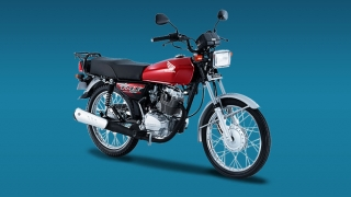 Honda TMX 125 Alpha red Philippines