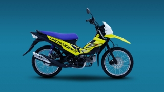 Suzuki Raider J crossover yellow Philippines