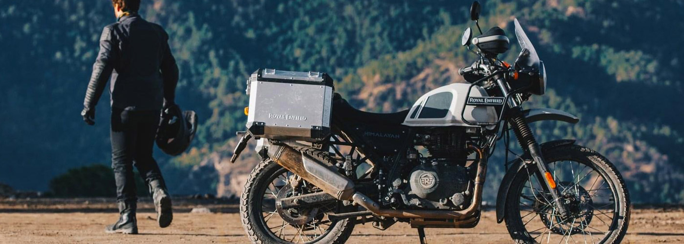 Royal Enfield Himalayan 411 Touring with Zero Interest