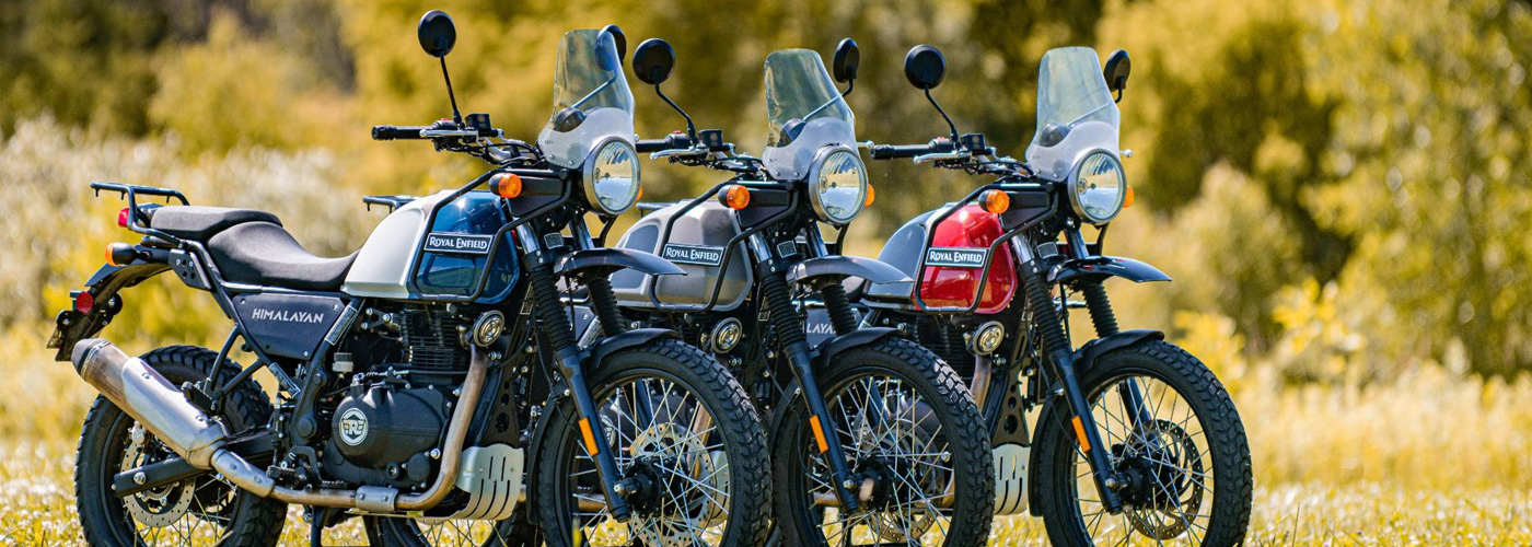 Royal Enfield Himalayan 411 Street with Zero Interest