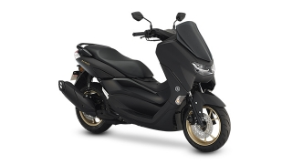 2021 Yamaha NMAX exterior quarter front Midnight Black Philippines