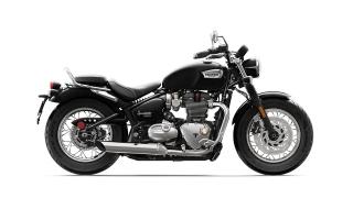 2020 Triumph Bonneville Speedmaster side Jet Black