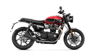 2020 Triumph Speed Twin side Korosi Red/Storm Grey
