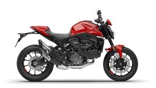 2021 Ducati Monster Plus Red