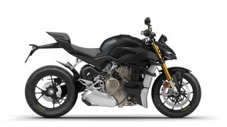 2021 Ducati Streetfighter V4 S Black