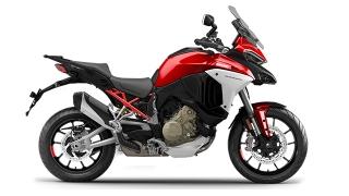 Ducati Multistrada V4 S SW Red